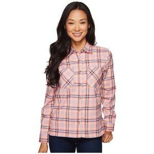Mountain Hardwear Pink Plaid Button Up Shirt